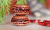 Schokoladen-Mandel-Macarons