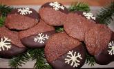 Chai Latte Cookies mit Schokokern