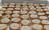 Mandel-Zitronen-Plätzchen mit Amarettocreme