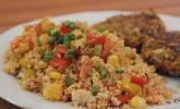 Platz 12: Couscous - Salat lecker würzig