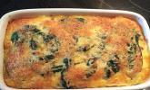 Pastinaken - Spinat - Gratin