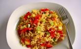 Frischer Reissalat