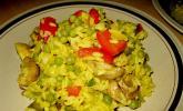 Pilz-Gemüsepaella
