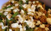 Reisgratin mit grünen Bohnen