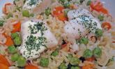 Fisch-Reis-Pfanne
