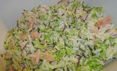 Reis mit Räucherlachs und Brokkoli