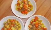 Hackfleisch-Kartoffel-Möhren-Eintopf