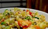 Curry - Couscous mit Nüssen