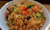 Couscous Salat mit Hähnchenbrust