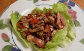 Kerniger Tomaten - Mozzarella - Wurstsalat