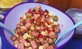 Bunter Käse - Wurstsalat