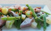 Rustikaler Matjes-Bohnensalat
