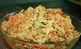 Quinoa Salat mit Möhre und Zucchini