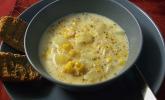 Amerikanische Maissuppe