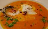 Kürbissuppe mit Ingwer und Ahornsirup