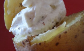 Baked Potatos mit Sour Creme