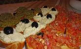 Bruschetta Trikolore Italiano