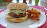 California Burger mit Avocado-Mayonnaise