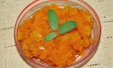 Kürbis-Chutney mit Salbei