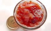Schalotten-Chutney mit Cranberries für den Single-Haushalt