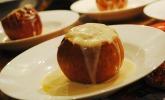 Platz 11: Marzipan - Bratäpfel mit Vanillesoße