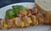 Platz 11: Papaya - Hähnchen - Spieße für den Grill