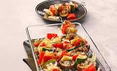 Platz 35: Illes Gemüsespieße aus dem Backofen