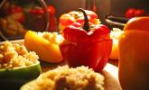 Platz 36: Paprika mit Geflügel - Curry - Füllung