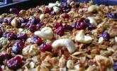 Cashew-Cranberry-Müsli