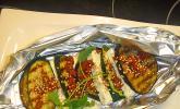 Auberginen - Zucchini - Feta - Päckchen