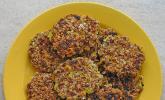 Vegetarische Paprika - Mais Frikadellen