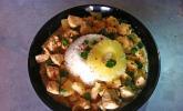 Hähnchen - Ananas - Curry mit Kokosmilch