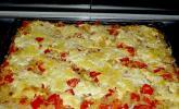 Hackfleisch - Sauerkraut - Pizza
