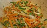 Beilage: Asiatischer Rettich - Möhren - Salat