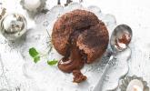 Schokoladenküchlein mit geschmolzenem Kern