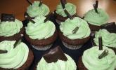 Schoko-Pfefferminz-Cupcakes