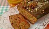 Rote Bete-Kuchen mit Nüssen