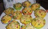 Spaghetti-Muffins mit Kräuterquark