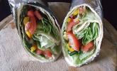Gemüse-Wrap