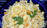 Geflügel - Nudelsalat mit Mandarinen
