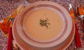 Camembert - Süppchen mit Wein