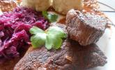 Geschmortes Rindfleisch in Barolo