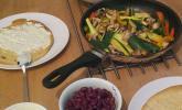 Wrap mit vegetarischer Füllung