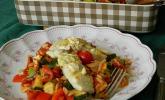 Fischfilet mit Kritharaki und Gemüse