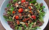 Linsen - Tomaten - Walnuss - Salat