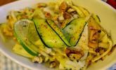 Zucchini - Salat mit Minz - Vinaigrette