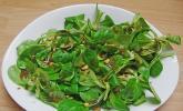 Feldsalat mit Cassis - Vinaigrette