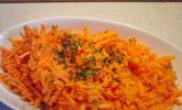 Karottensalat mit Ingwer - Vinaigrette