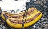 Schoko - Banane vom Grill