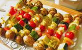 Gemüsespieß zum Grillen